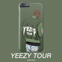 Kanye West Yeezy Yeezus Tour Jacket Illustration IPhone Galaxy Phone Case