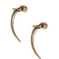 Pave Talon Earrings
