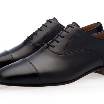 HECTOR NAPPA BLACK LACE-UP