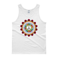 Peace mandala Men's Tank top