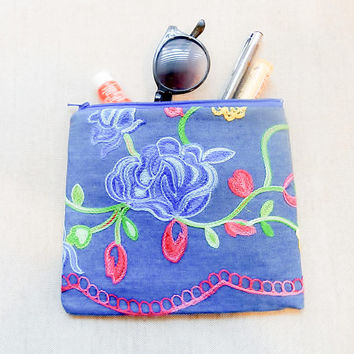 Make Up Bag/ Graduation Gift/ Best Friend Gift/ Pencil Case/ Back to School Gift/ Gift for Her/ Gift for Mom/ Gift for Women/ Pouch