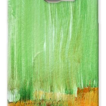 Modern Green Abstract Galaxy S6 Case