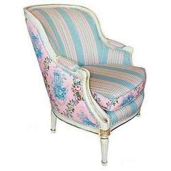 Pre-owned Painted Beregere Louis XVI Style Chair