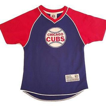 MLB Chicago Cubs Baseball Youth Replica Jersey Pull Over Jersey Top Choose Size