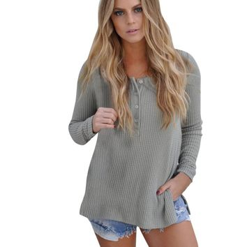 Feitong Autumn Womens Knitted Sweater Ladies Sexy Long Sleeve Jumper Sweater Casual Knitwear Tops Jumper Knitwear pull femme New