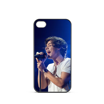 One Direction Harry Styles Sing iPhone 4 / 4s Case