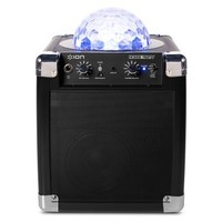 ION House Party Portable Sound System with Built-In Light Show (Black)