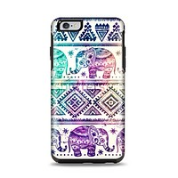 The Tie-Dyed Aztec Elephant Pattern Apple iPhone 6 Plus Otterbox Symmetry Case Skin Set