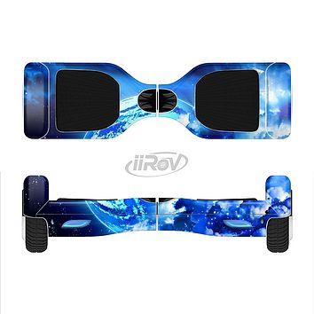 The Glowing Cloudy Planet Full-Body Skin Set for the Smart Drifting SuperCharged iiRov HoverBoard