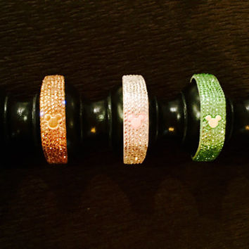 Custom Swarovski Crystal Magic Bands