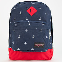 Jansport Super Fx Backpack Navy Moonshine Anchors Away One Size For Women 24760924901