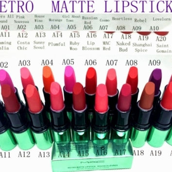 MAC MINERALIZE RICK LIPSTICK 4.04G 12PCS/LOT