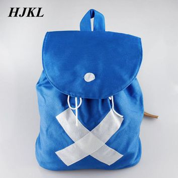 Anime Backpack School HJKL kawaii cute ONE PIECE Canvas Backpack Tony Chopper good gift Cosplay Cute School bag Shoulder Bag For Teenagers Boys Girls Kids AT_60_4