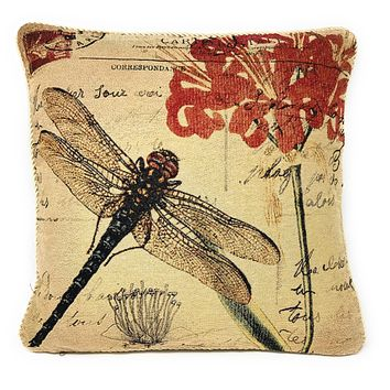 Tache Fly High Dragonfly Throw Pillow Cushion Cover (15044)