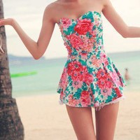 Summer Dresses Beach Cute Clothes Style Fashion - doocab.com | via Tumblr