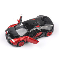 1:32 Scale Bugatti Veyron coches jugetes Diecast Car Model Pull Back Cars Collection oyuncak araba Kids Toys Gifts