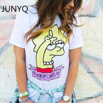 2018 new brand summer lovable lovable Simpson women T-shirt and lovely lady T-shirt
