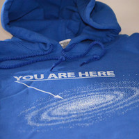 You are here galaxy hoodie size Large or choice of by geekthings