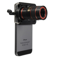 Universal 8x Zoom Optical Lens Telescope Telephoto For Mobile Phone Camera Lenses Cell Phone Lens for iPhone Samsung Smartphones