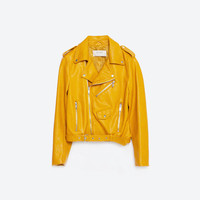 FAUX LEATHER JACKET - View All-OUTERWEAR-WOMAN-SALE | ZARA United States