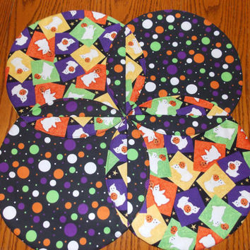Halloween Table Runner Topper Quilt