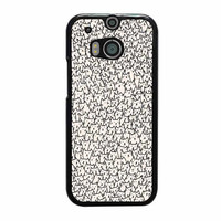 a lot of cats art print case for htc one m8 m9 xperia ipod touch nexus