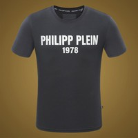 2018 Men  Cheap  Philipp Plein  T Shirt hot sale ♂012