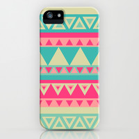 Tropical Tribal iPhone & iPod Case by Haleyivers