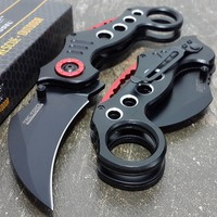 """4"""" TAC FORCE TACTICAL SPRING ASSISTED FOLDING KNIFE Blade Pocket open switch"""