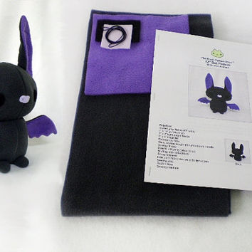 Plush Bat Plushie Sewing Kit DIY