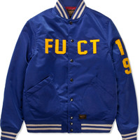 Blue FUCT Stadium Jacket