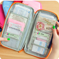 Travel Passport Holder Business Credit Card Case