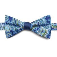 Croft & Barrow Nolan Paisley Pre-Tied Bow Tie - Men, Size: One