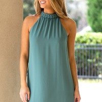Good At This Dress in Moss | Monday Dress