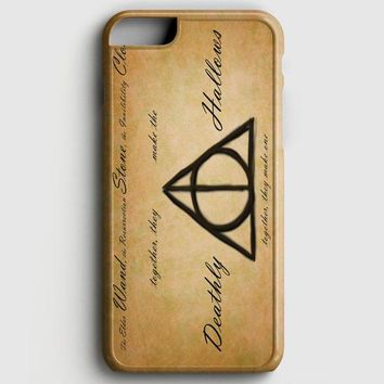 Harry Potter With Tribal Print iPhone 6/6S Case