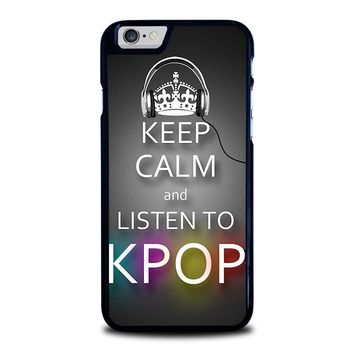 keep calm and listen kpop iphone 6 6s case cover  number 1