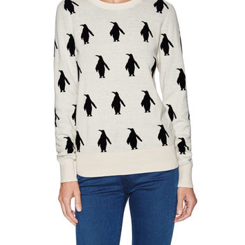 Penguin Knit Sweater