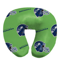 Seahawks  Beaded Neck Pillow