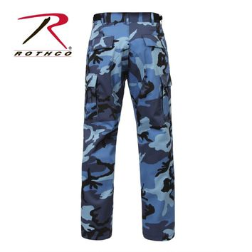 Excellent Squeeze Blue Camo Skinny Pants  Zulily