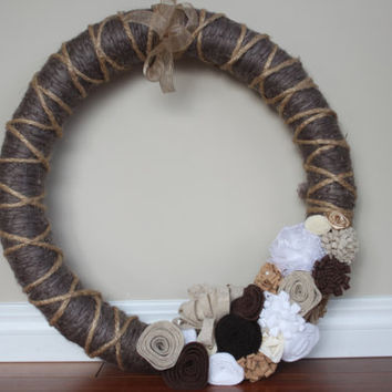 Rustic Wreath, Everyday Wreath, Year Round Wreath, Rustic Wedding Wreath, Rustic Wedding Decor, Rustic Home Decor, Gift, Front Entrance