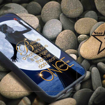 Once Upon a Regina Hook Believe iPhone Case, iPhone 4/4S, 5/5S, 5c, Samsung S3, S4 Case, Hard Plastic and Rubber Case By Dsign Star 08
