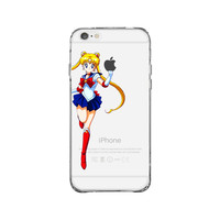 Sailor Moon Beauty iPhone 6 Plus Clear Case