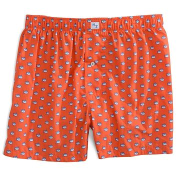 Skipjack Boxers in Orange Sky by Southern Tide