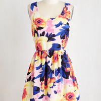 Mid-length Sleeveless A-line Catalina Cruise Dress