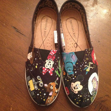 Shop Disney Painted Shoes on Wanelo 7e1b0993b