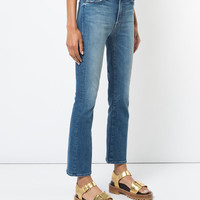 Mother The Insider Flared Jeans - Farfetch