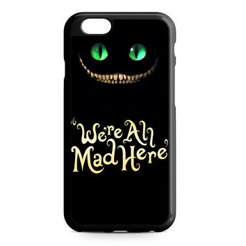 were ah mad here cover black iPhone 6 Case
