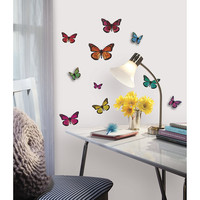 RoomMates 3D Butterfly Wall Decals