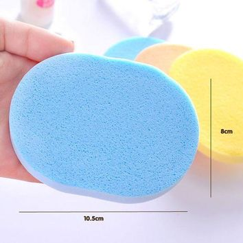 ESBON New Arrival 1 Pc Seaweed Cleansing Flutter  Makeup Puff Seaweed Wash Puff  Beauty Wash Your Face Make Up Sponge Pad