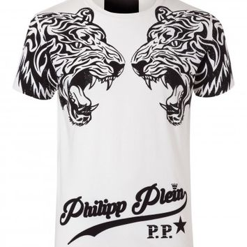 """T-SHIRT ROUND NECK SS """"DUBLE TIGER"""""""